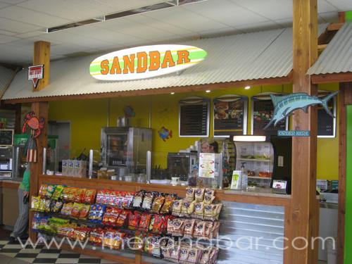 New Sandbar Sub Shop - The Sandbar   Home of the Indoor
