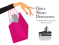 Girls Night Downtown logo