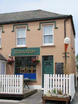 Sandbar in Ireland